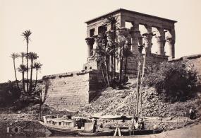 Francis Frith: Der Kiosk des Trajan auf der Nilinsel Philae